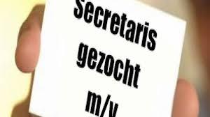Vacature secretaris