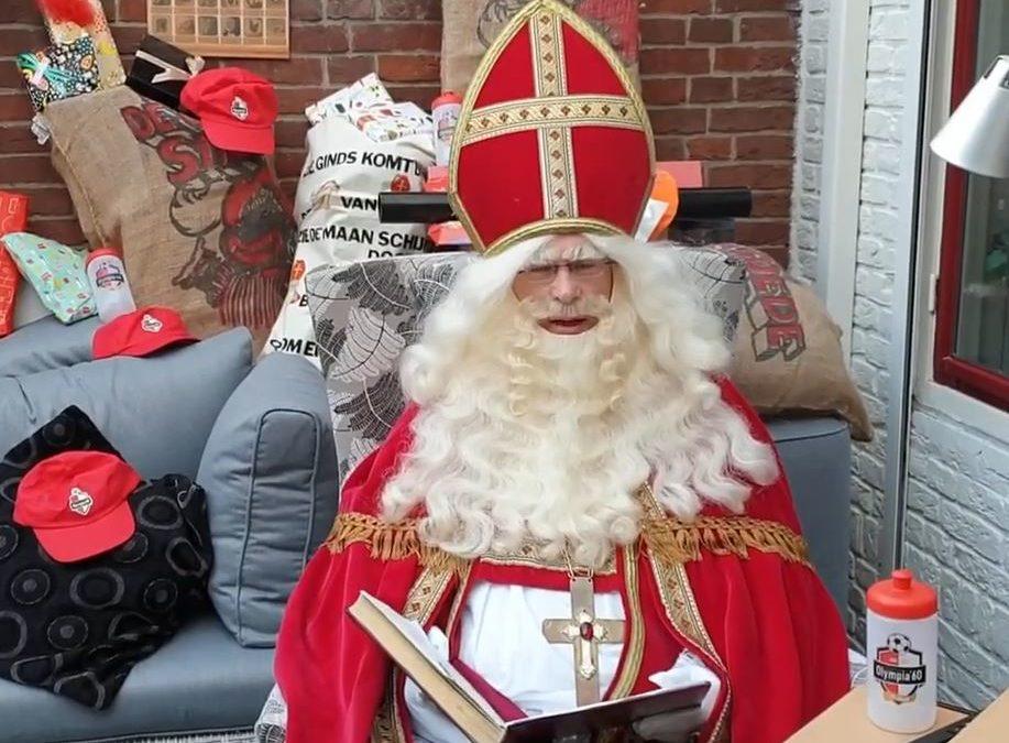 Komt Sint dit jaar wel naar Olympia'60?