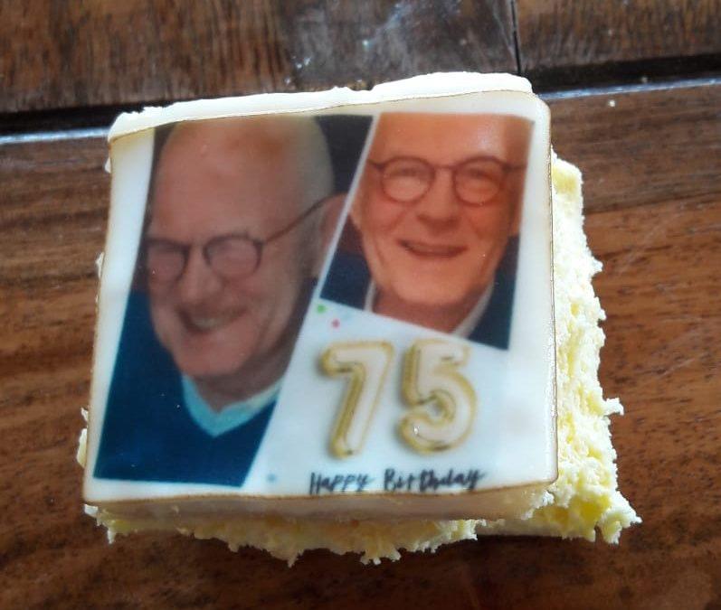 Arie van de werkploeg 75 jaar !